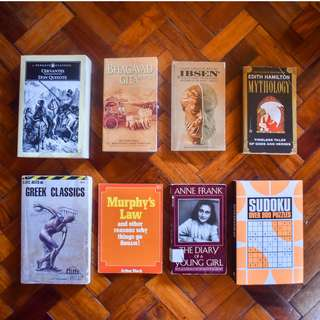 Books sold as set