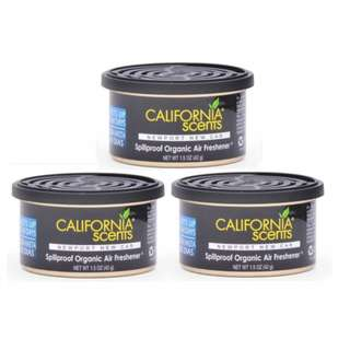 California Scent Organic New Port New Car (Bundle of 3)