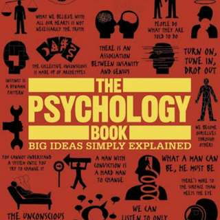 The Psychology Book - Big Ideas Simply Explained (NEW - SEAL)