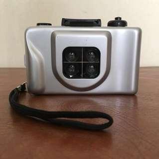 Action-Cam 4 Lenses Super Mini Camera