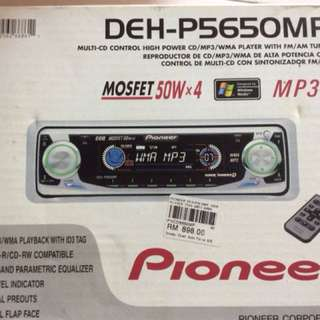 Pioneer single din players