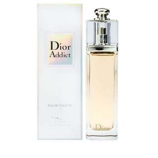 75% new Dior addict 50 ml