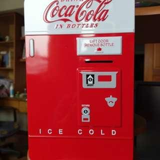 Coke可口可樂投幣式存錢筒收納盒