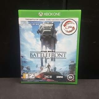 XBOX ONE Star Wars Battlefront (Used Game)