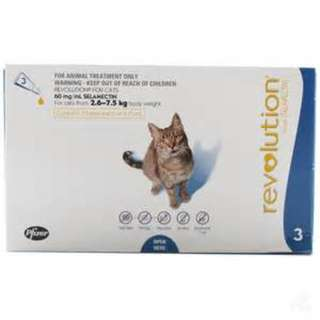 Revolution for Cat 2.6 to 7.5kg 3 applications