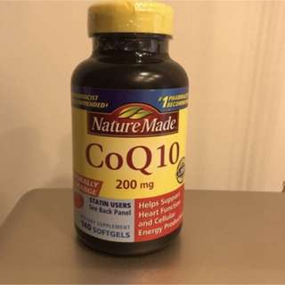 Nature Made 輔酵素 CoQ10 200mg 140 顆