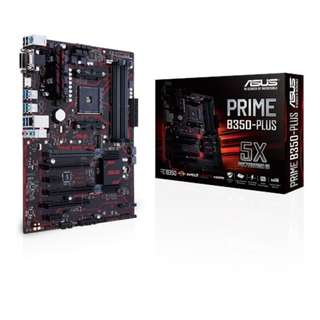 Asus PRIME B350-PLUS Overview
