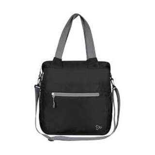 Travelon Packable Crossbody Tote, Black