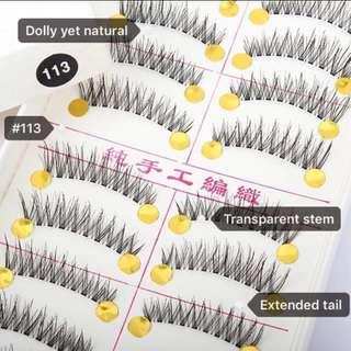 Taiwan Handmade False/Fake Eyelashes (#113 TS)