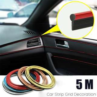 Car strip Grid decoration interior moulding wire