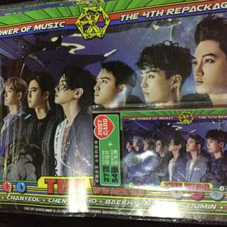EXO Power repackage (Poster + Post Card)