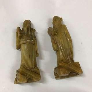 [14 TSREL 022] Vintage fulushou figurine (incomplete)