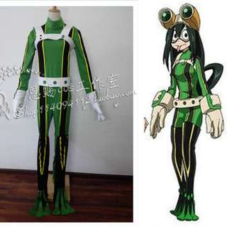PREORDER Boku no Hero Academia Tsuyu Hero Cosplay
