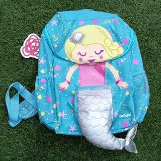 Smiggle Girls Mermaid Character Backpack