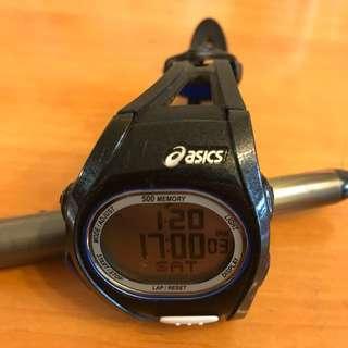 Asics 跑步電子手錶wJ10-4000
