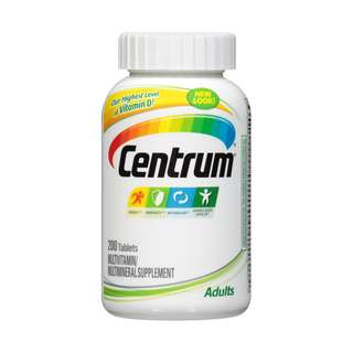 Centrum Adults, Multivitamin Supplement , 200 Tablets