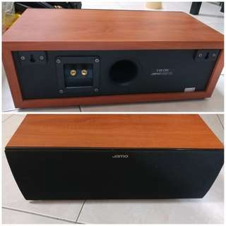 Jamo Home Theatre system (red wood)