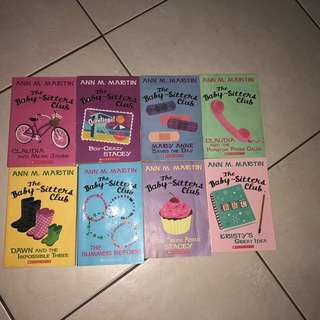 Bundle ~ The Baby Sitters Club Books