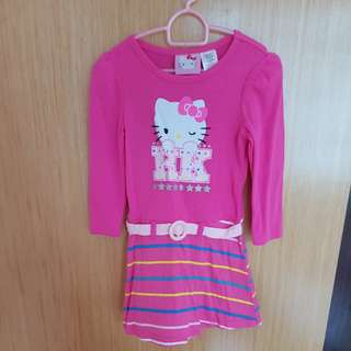Pink Hello Kitty Dress
