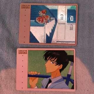 百變小櫻日本1998年絕版咭2張