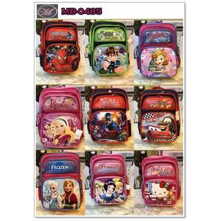 CODE: MB-0485 Kids Character Backpack