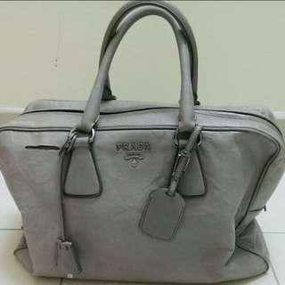 Authentic PRADA bauletto large tote bag