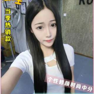 Very pretty when wore!😍 PO centre parting ladies full wig   * waiting time 10 days after payment is made *pm to order