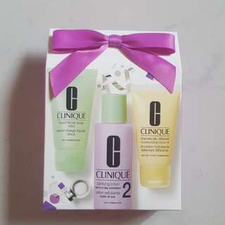 Clinique trial set limited edition