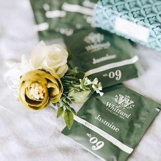 Whittard · 茉莉花綠茶 · 限量耶誕包裝 · 發現茶系列