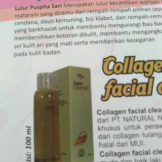 Collagen facial cleansee