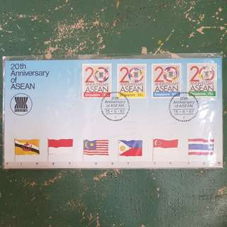17× 20th anniversary of ASEAN fdc