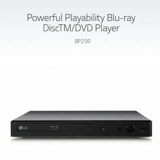 LG BP250 blu-ray player 藍光機