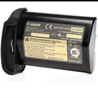 Canon LPE-4N battery for 1Dx camera