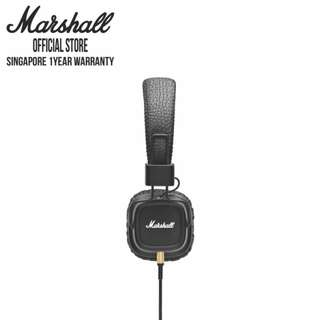 [1 Year Warranty] Marshall Major II On-Ear Headphones with Mic Headset