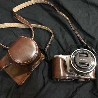 類單眼相機 SONY A5000+16-50mm鏡頭