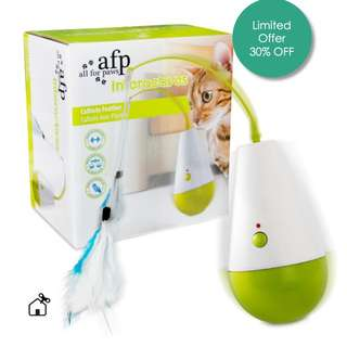 AFP Interactive Automatic Feather Cat Toy