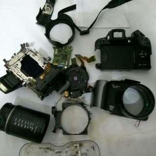 Canon Powershot SX10 IS -  DEFECTIVE