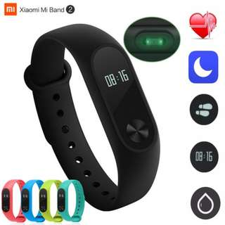 New Original Xiaomi Mi Band 2 Smart Wristband Bracelet Heart Rate Monitor