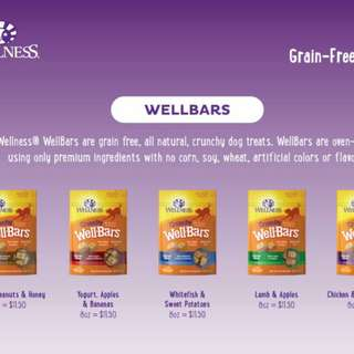 Wellness treats wellbars