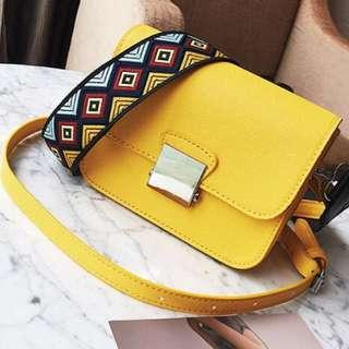 HOT Tas Selempang Sling Bag Mirip Tas Zara Fashion Wanita Cewek Impor 783