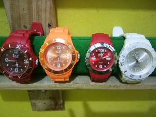 New! Jam Ice Watch
