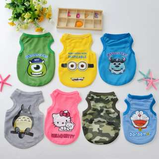 [On sale]Fur Kids in Disney Character Vest ~Air Cool Material~ Suitable for Hot Summer