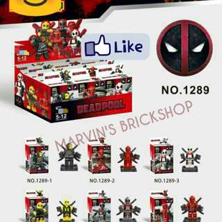 For Sale Deadpool 8in1 Minifigures