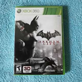Xbox 360 UNOPENED Batman Arkham City Video Game