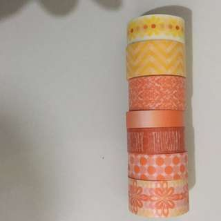 RECOLLECTIONS WASHI TAPE SAMPLE SET 1