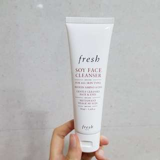 *1 day sale* Fresh Beauty Soy Face Cleanser (50ml)