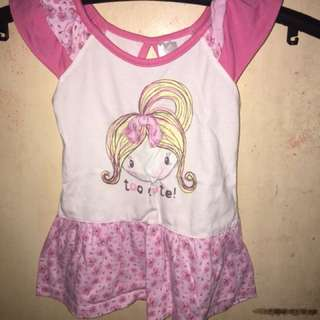 Girl print in pink