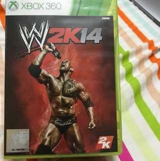 W2k14 Xbox 360