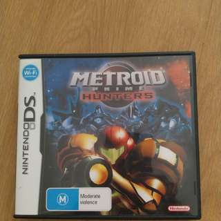 Metroid prime hunters for DS