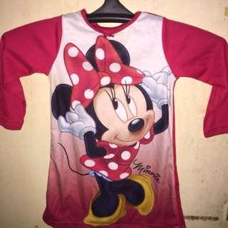 Mickeymouse longsleeve dress